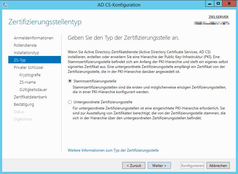 Wlan mit Zertifikaten: Migration auf neuen Server   ictschule