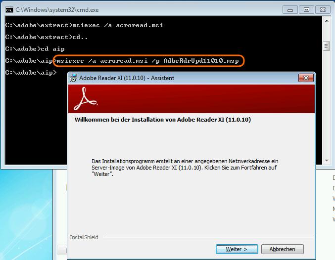 Adobe Reader 11 verteilen | ictschule