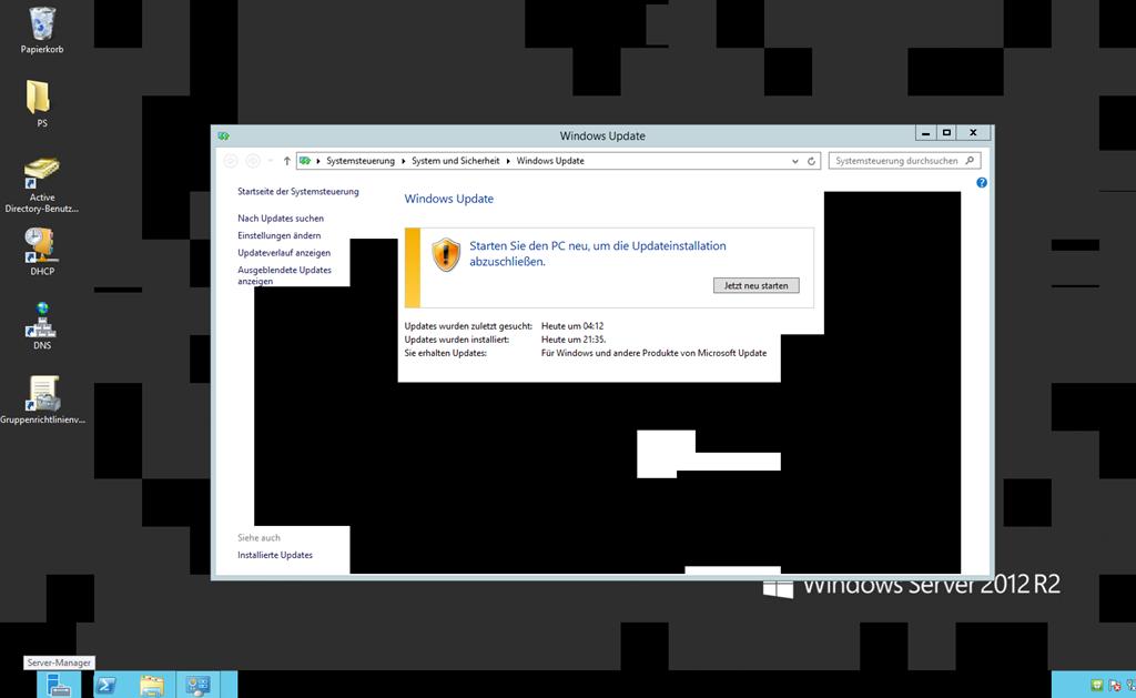 Schwarze Flecken Bei Remote Desktop Ictschule