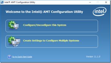 Intel AMT einrichten   ictschule
